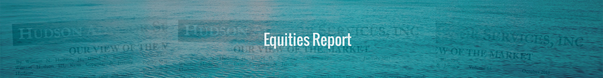 equities report banner